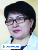 Врач: Сергазина Гульнар Кумаровна. Онлайн запись к врачу на сайте Doc.online (771) 949 99 33